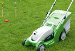 Lithium Ion lawnmowers