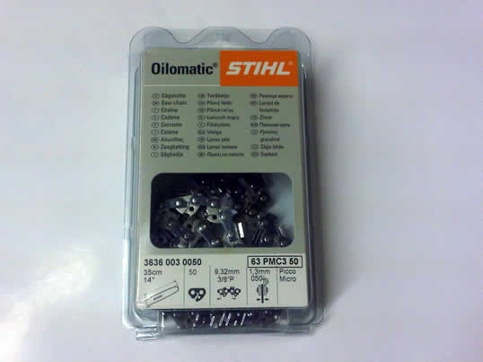 Stihl 3/8 pitch 1.6mm Chainsaw Chain 3621 003 0066