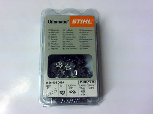 Stihl 20 Inch 3/8 pitch 1.6mm Chainsaw Chain 3621 003 0072