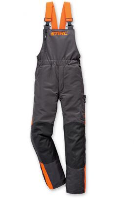 50f6c92fce8 Stihl Dynamic Chainsaw Trousers with Mid-Range Protection Bib and ...
