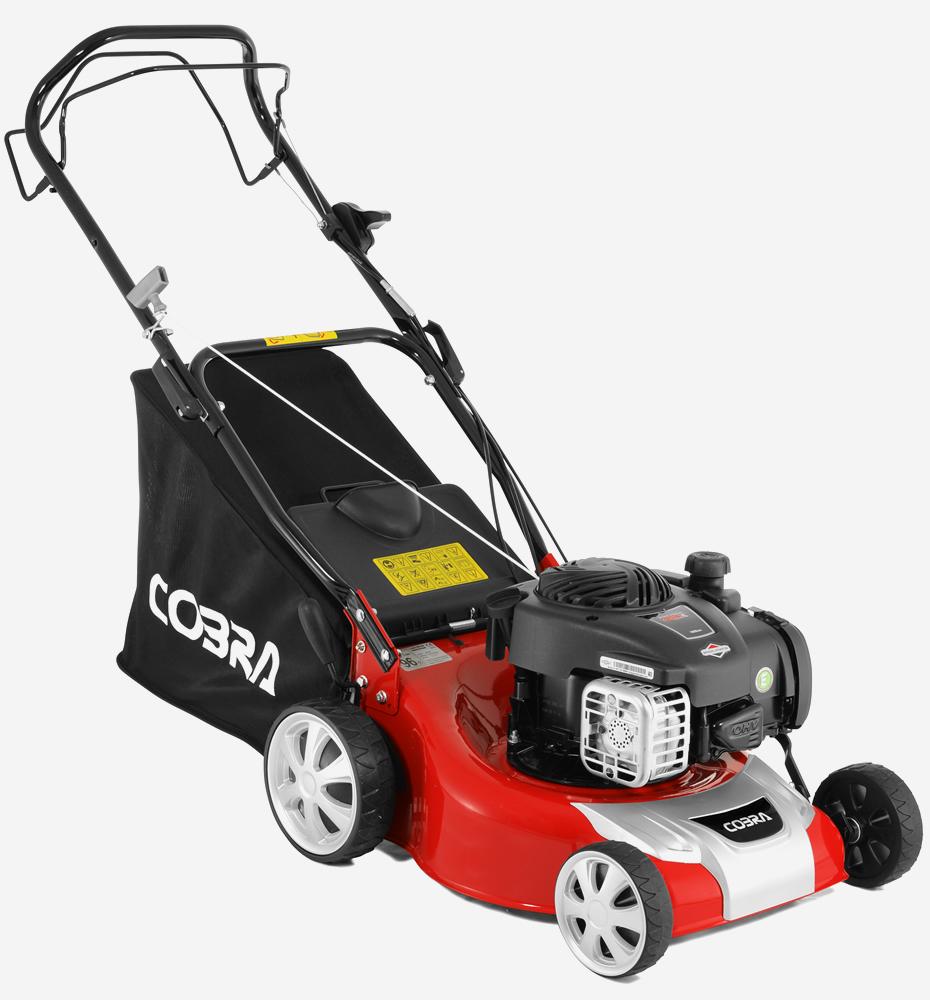 Cobra M40SPB 16″ Petrol Lawnmower