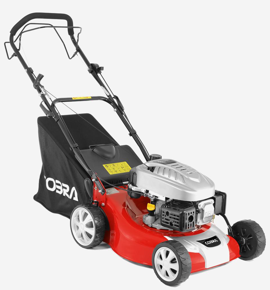 Cobra M46SPC 18 Inch Petrol 4 Wheeled Lawnmower