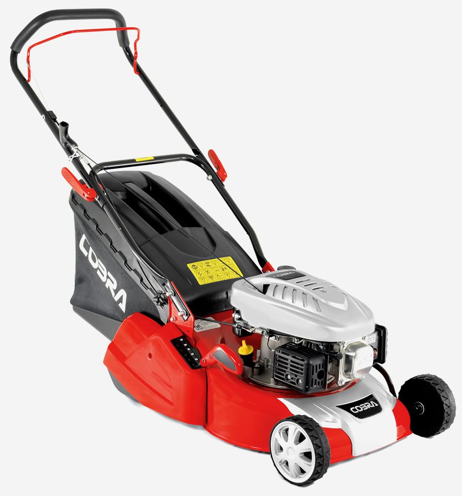 Cobra RM40C 16″ Rear Roller Push Petrol Lawnmower