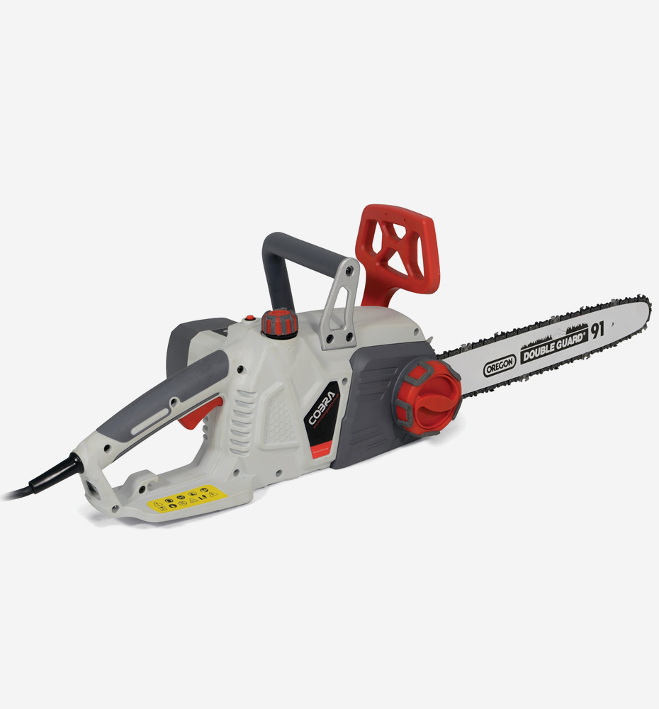 Cobra CS45E 2400w Electric Chainsaw with 18″ Oregon bar and chain