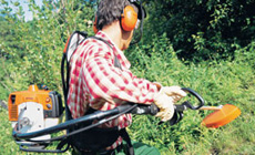 Stihl Backpak Brushcutter