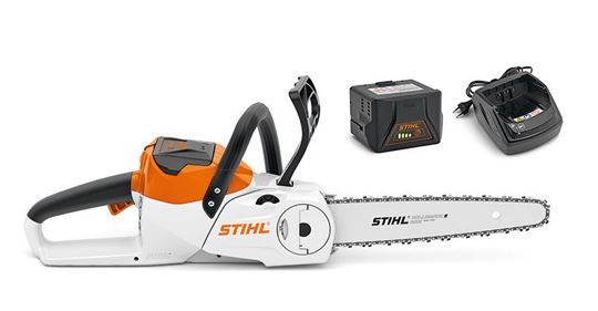 Stihl MSA 140 C-BQ with AK30 battery and AL 101 charger.