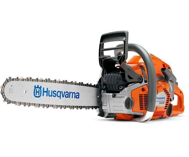 Husqvarna 550XPG chainsaw with 13 inch Bar
