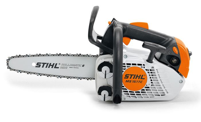 Stihl Petrol Top Handle Chainsaw MS151T C-E With 10 Bar