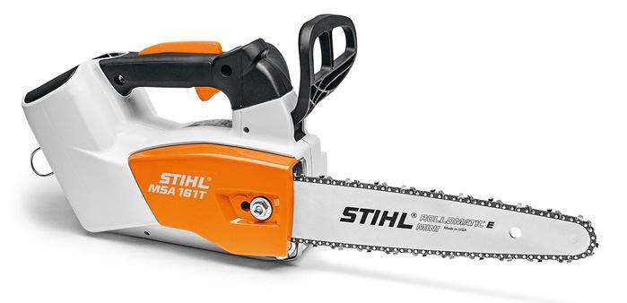 Stihl MSA 161 T Very lightweight cordless arborist chainsaw – 10inch