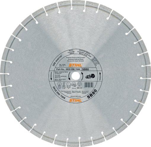 Stihl Diamond Cutting Wheel - Concrete DSB80 350 mm / 14 Inch