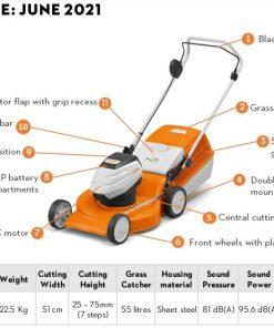 Stihl RMA 253 Cordless Lawn Mower