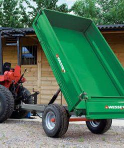 Wessex 1.25T-LGPW 1.25 Tonne Hydraulic Tipping Trailer