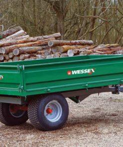 Wessex 1.5T-LGPW 1.5 Tonne Hydraulic Tipping Trailer