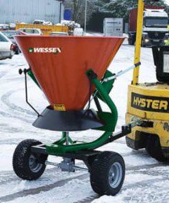 Wessex FS-270-TP-WK 270L Trailed ATV Salt Spreader